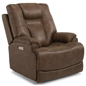 Flexsteel Marley Power Recliner with Power Headrest