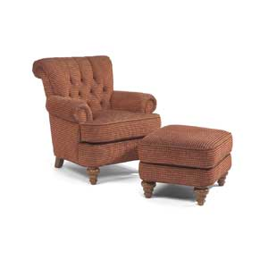 Flexsteel South Hampton Tufted Settee