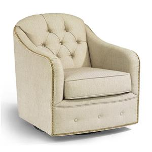 Flexsteel Accents Fairchild Swivel Chair