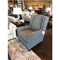 Flexsteel Accents Perth Chair and Ottoman - Item Number: 0112-10-0112-08-964-02