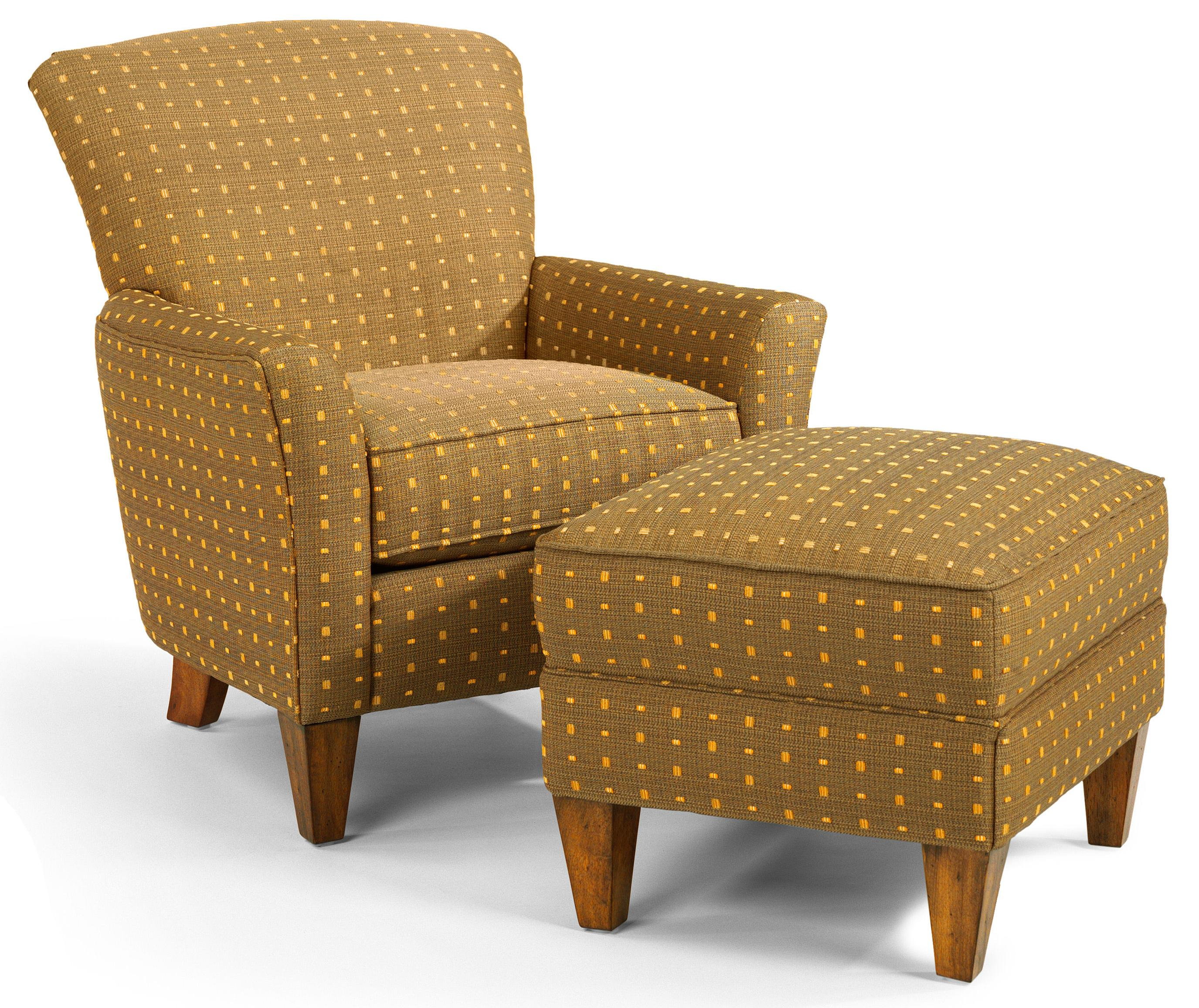 Dancer Chair & Ottoman Set