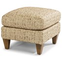 Flexsteel Accents Alek Ottoman - Item Number: 0123-08