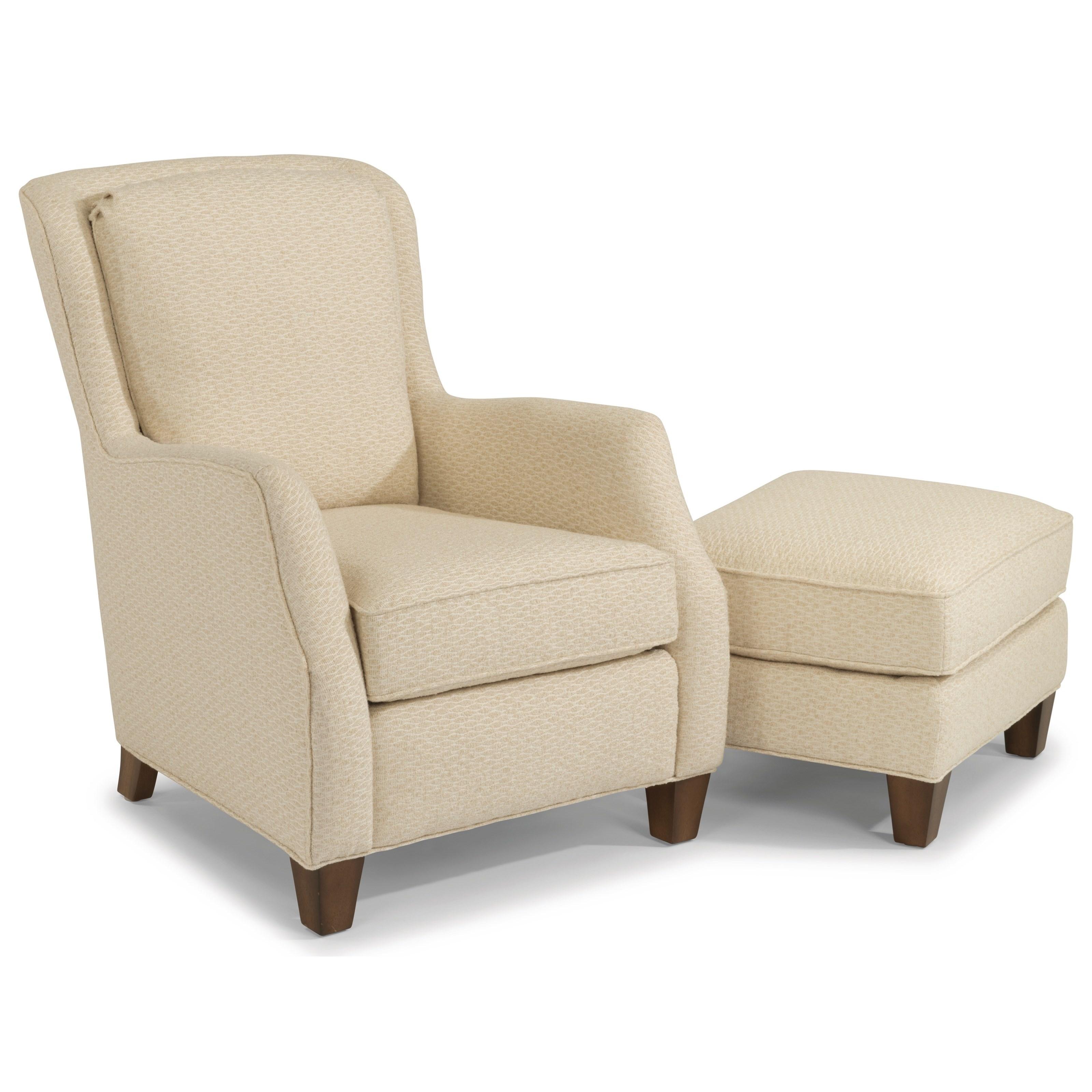 Flexsteel Accent Chair 0410: Flexsteel Accents 0124-10 Allison Chair
