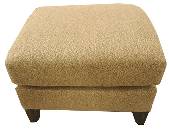 Flexsteel Accents Upholstered Ottoman - Item Number: 030C-08