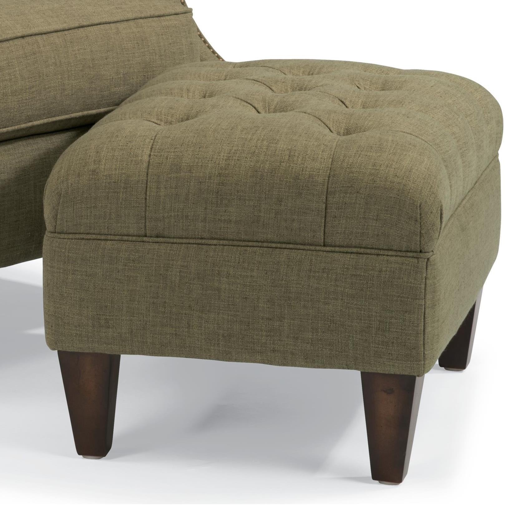 Flexsteel Accents Azalea Ottoman - Item Number: 0610-08