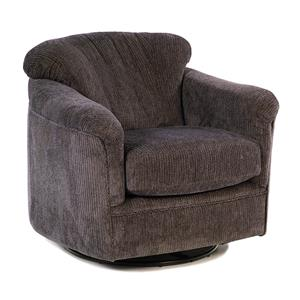 Flexsteel Accents Riverton Swivel Glide Chair