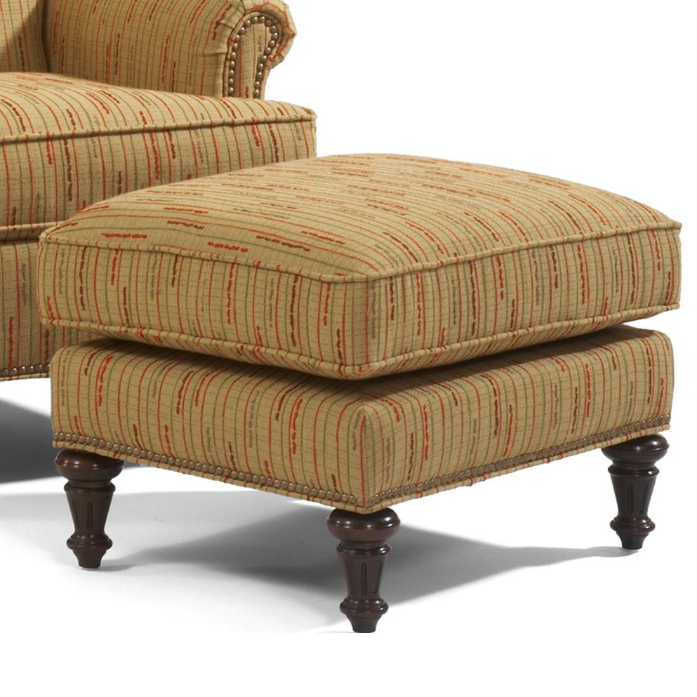 Accents Flemington Ottoman by Flexsteel at Jordan's Home Furnishings