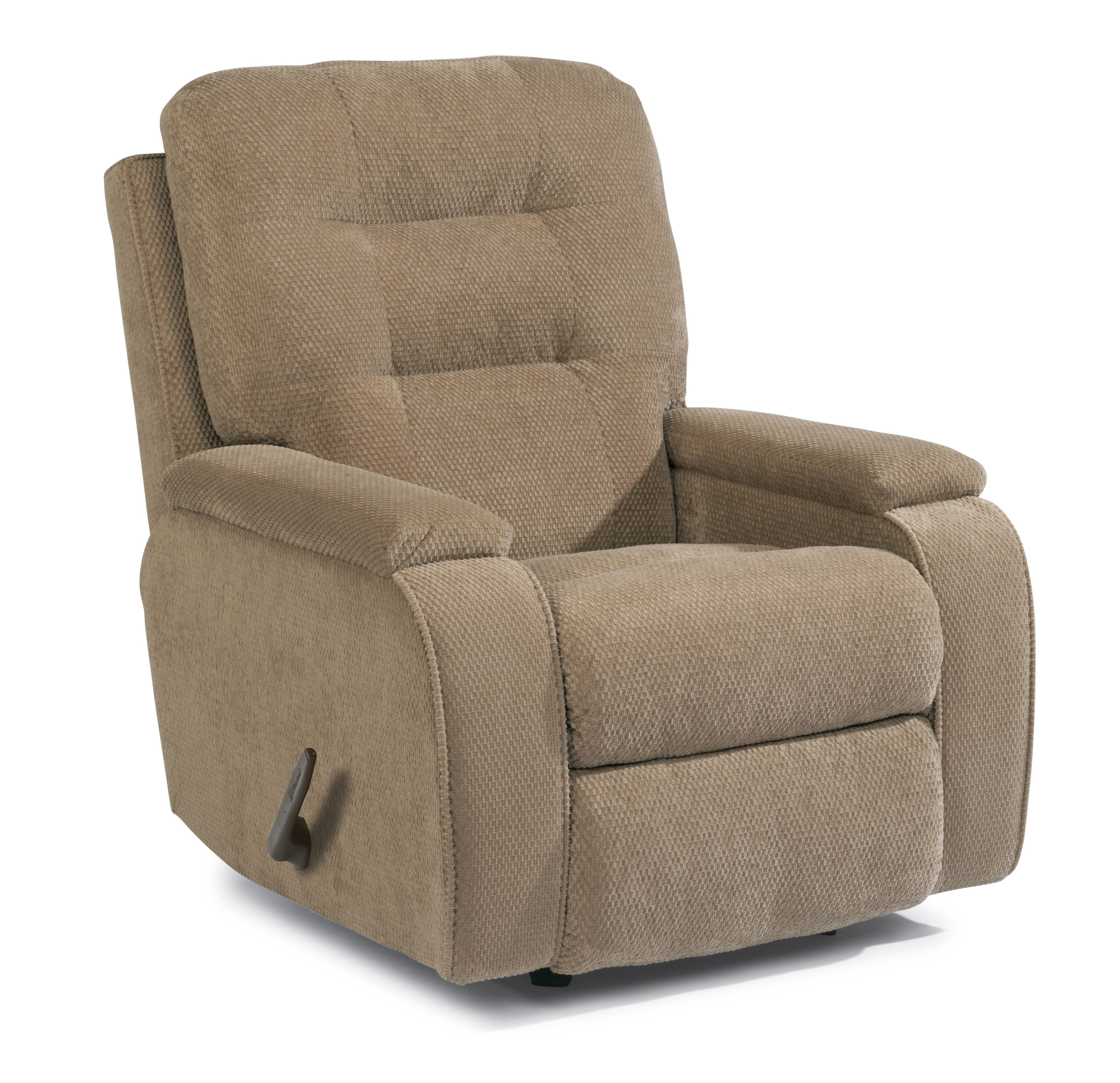 Flexsteel Accents 2806 51 Kerrie Recliner With Channeled