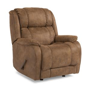 Flexsteel Accents Power Rocking Recliner