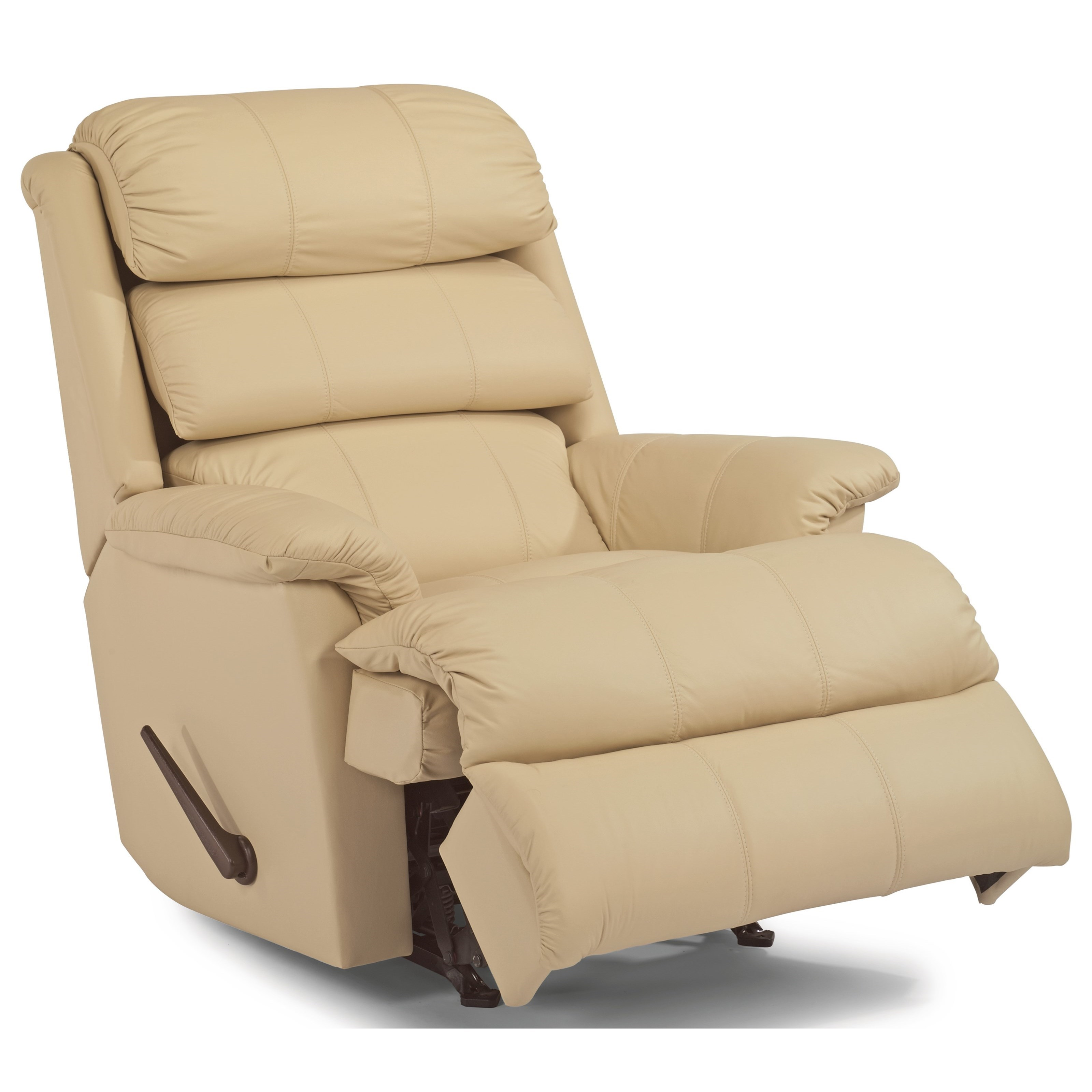Accents Rocking Recliner by Flexsteel at Michael Alan Furniture & Design