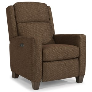 Flexsteel Accents Power High-Leg Recliner with Power Headrests