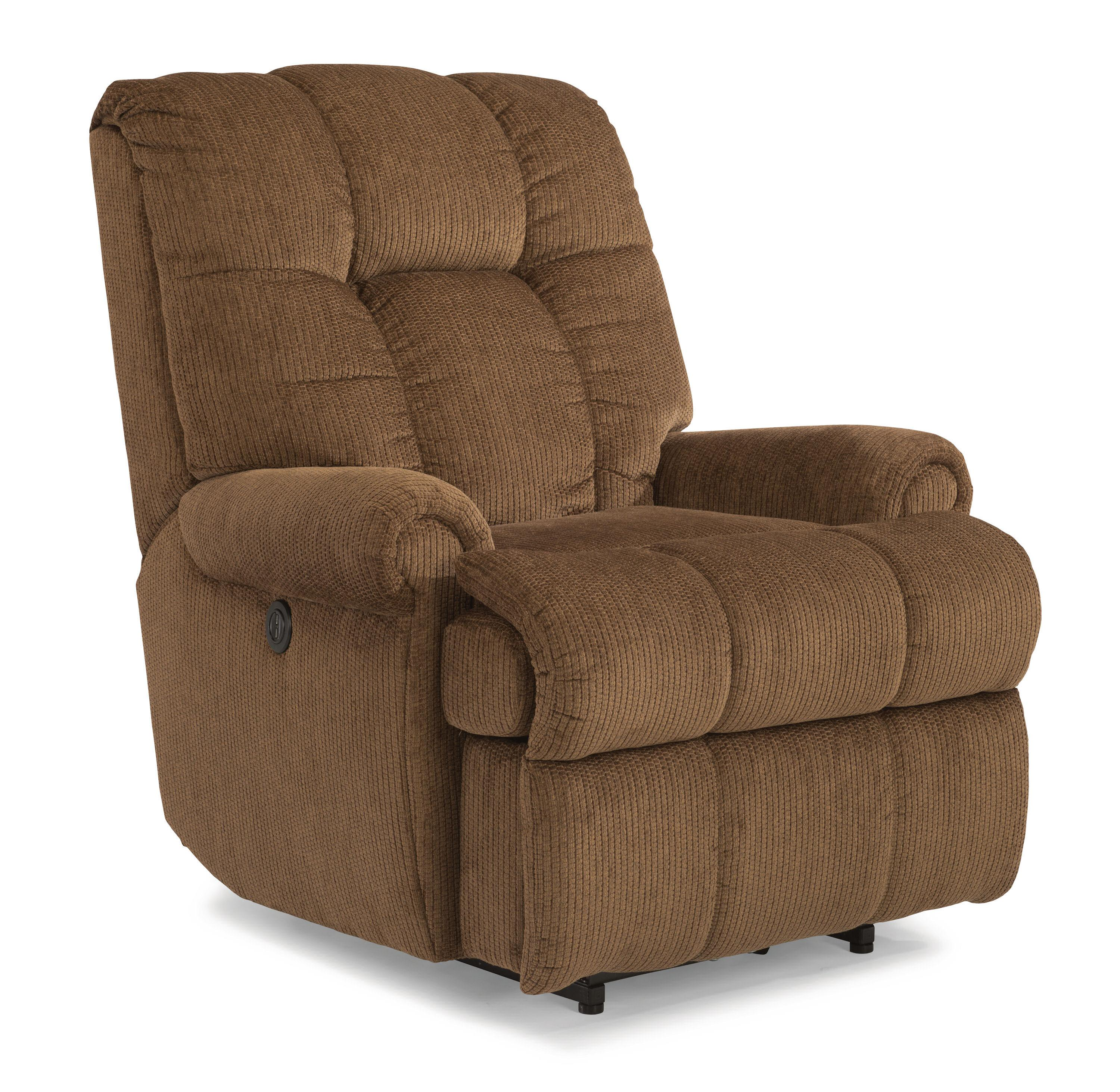 Accents Large Recliner with Power by Flexsteel at Suburban Furniture