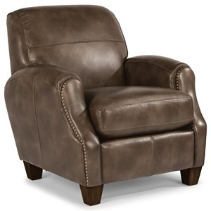 Flexsteel Accents Whistler High Leg Recliner With Nail