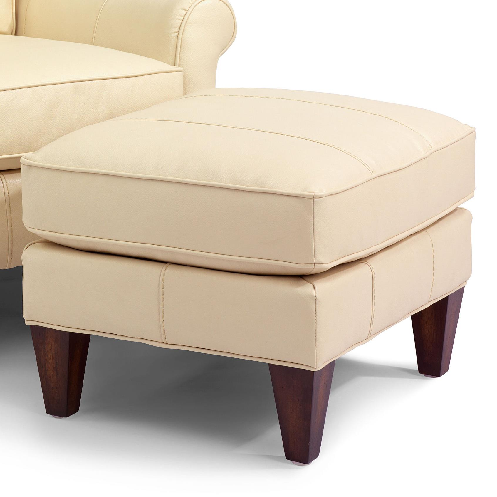 Flexsteel Accents Harvard Ottoman - Item Number: N009C-08