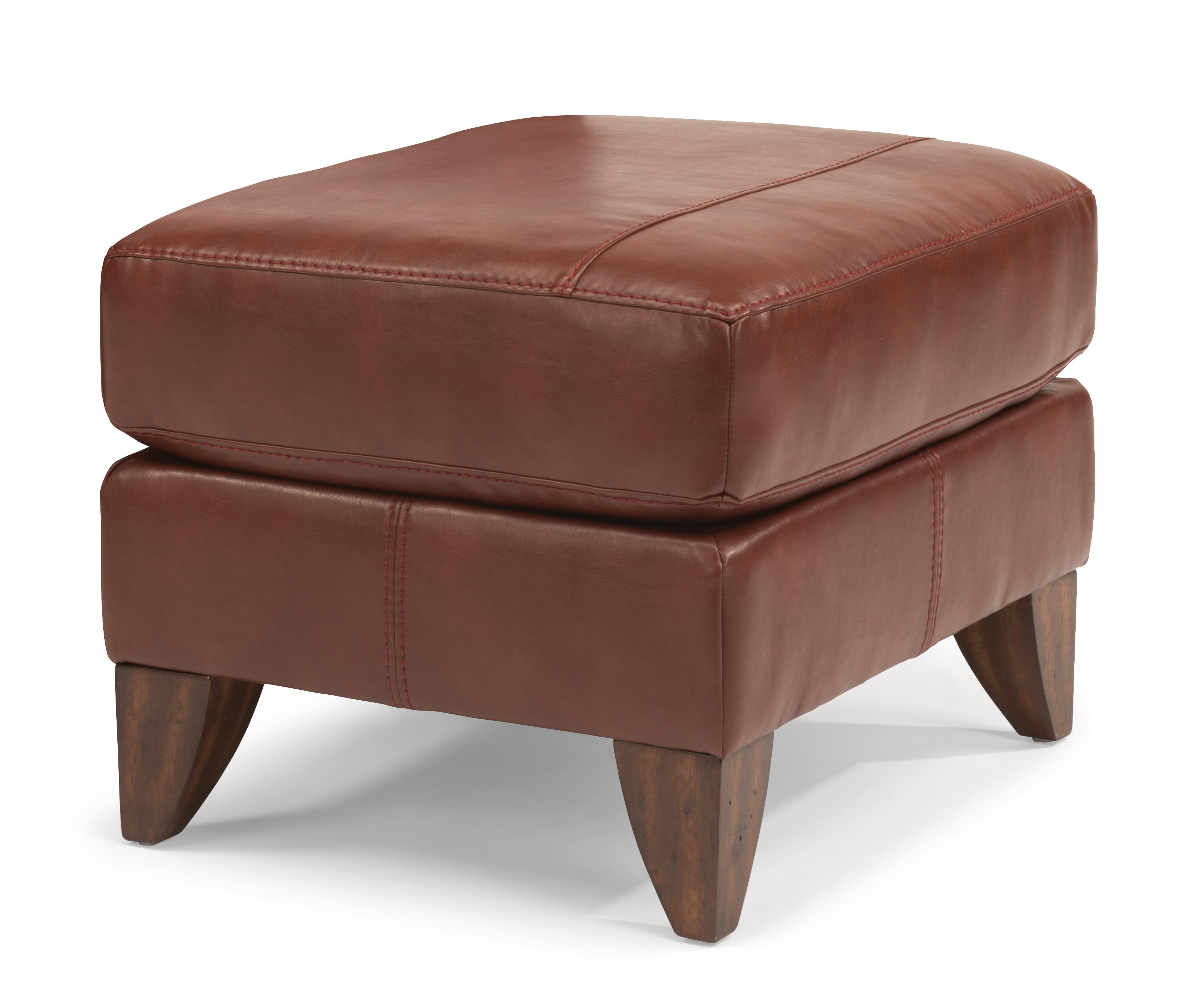 Flexsteel Accents Upholstered Ottoman - Item Number: N030C-08