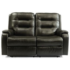 Arlo Power Reclining Loveseat by Flexsteel at Fisher Home Furnishings