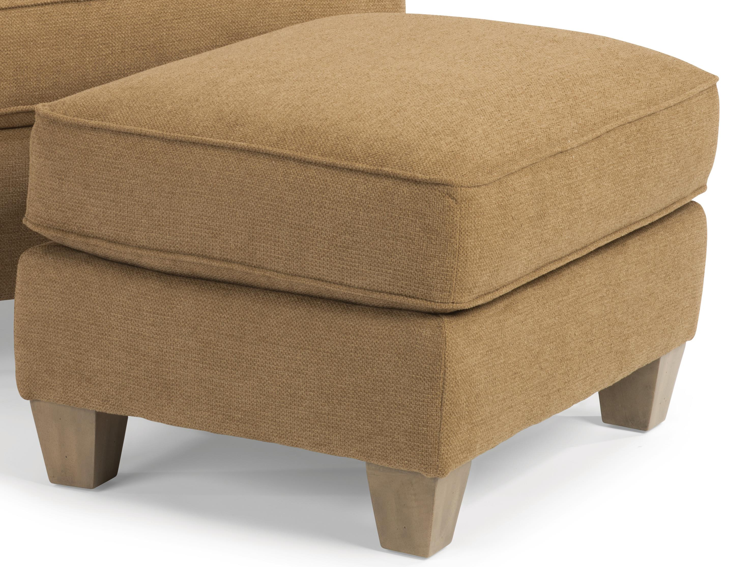 Atlantis Ottoman by Flexsteel at Furniture and ApplianceMart