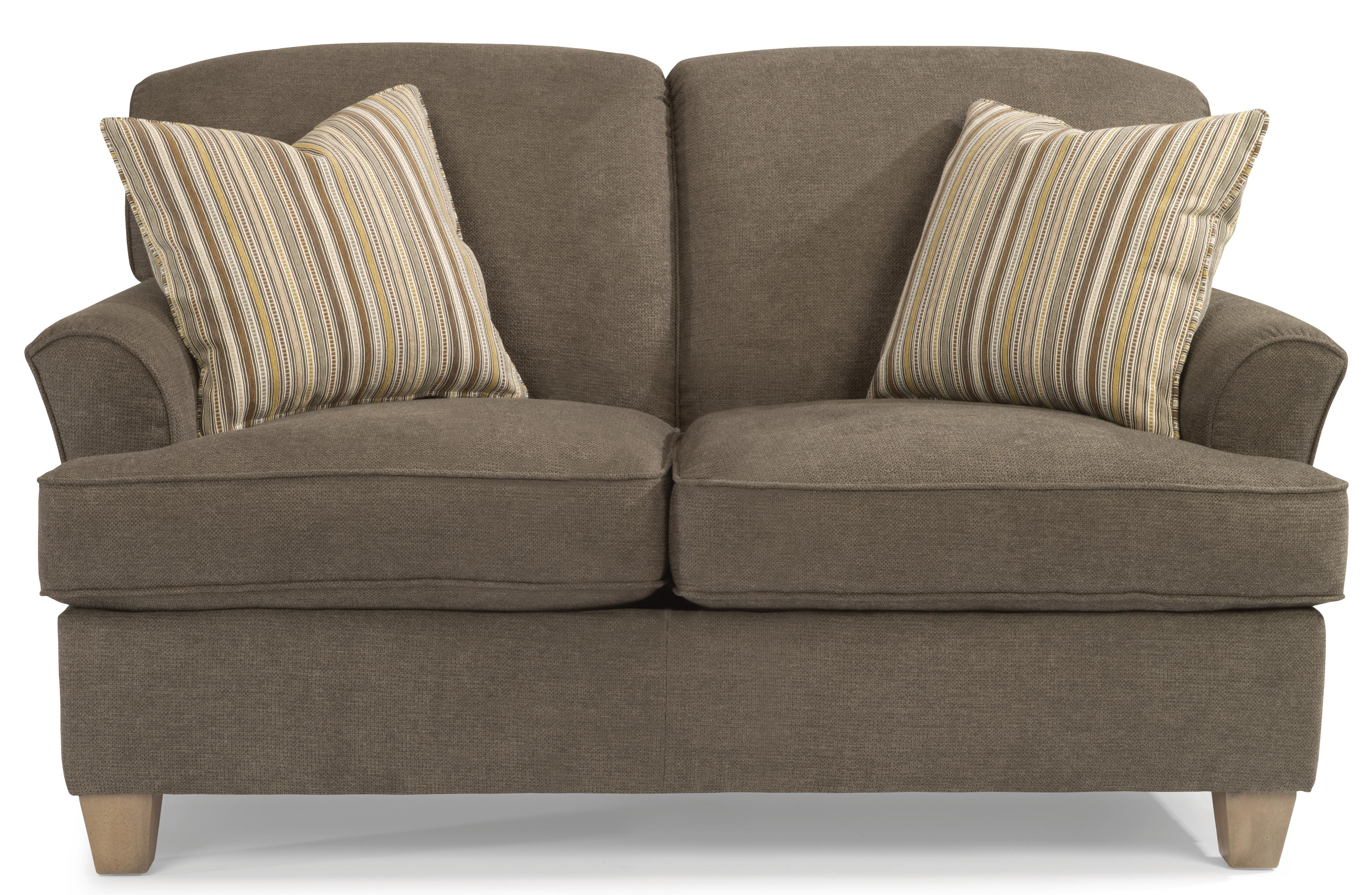 Atlantis Loveseat by Flexsteel at Rooms and Rest