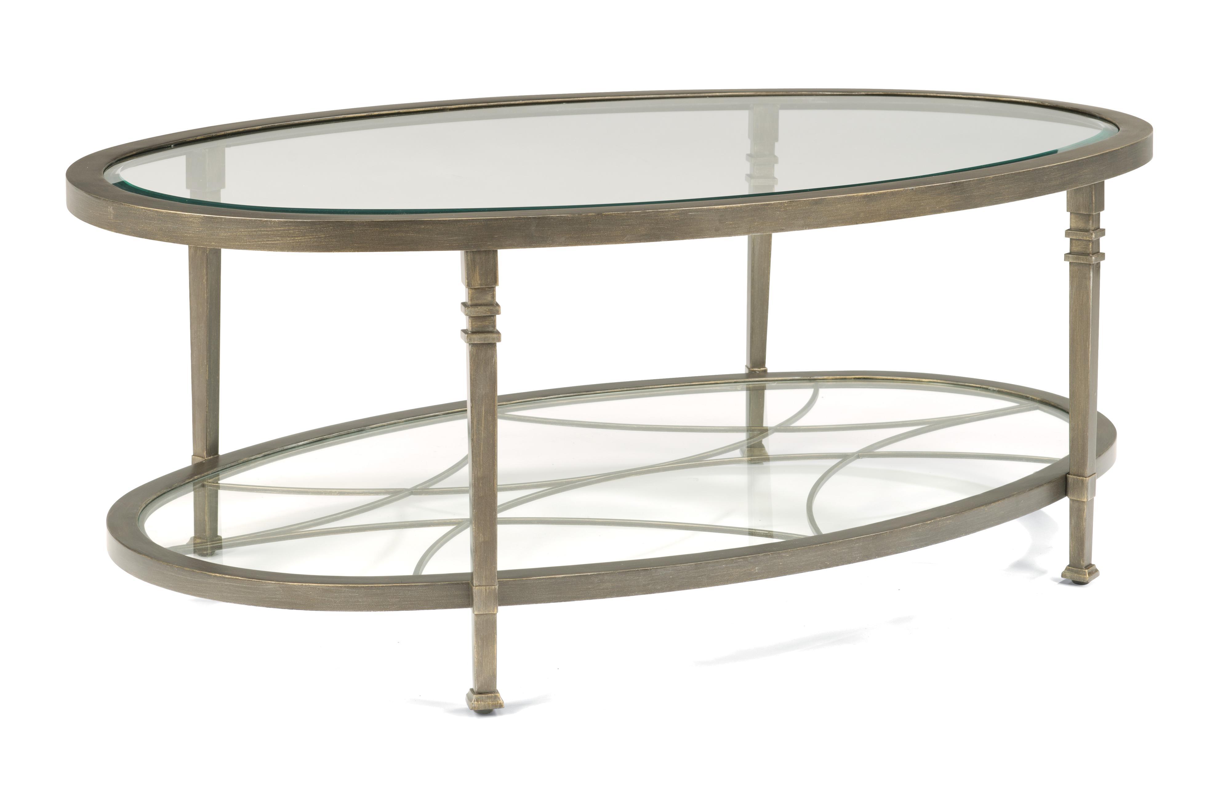 Flexsteel Atrium Oval Cocktail Table - Item Number: 6725-033