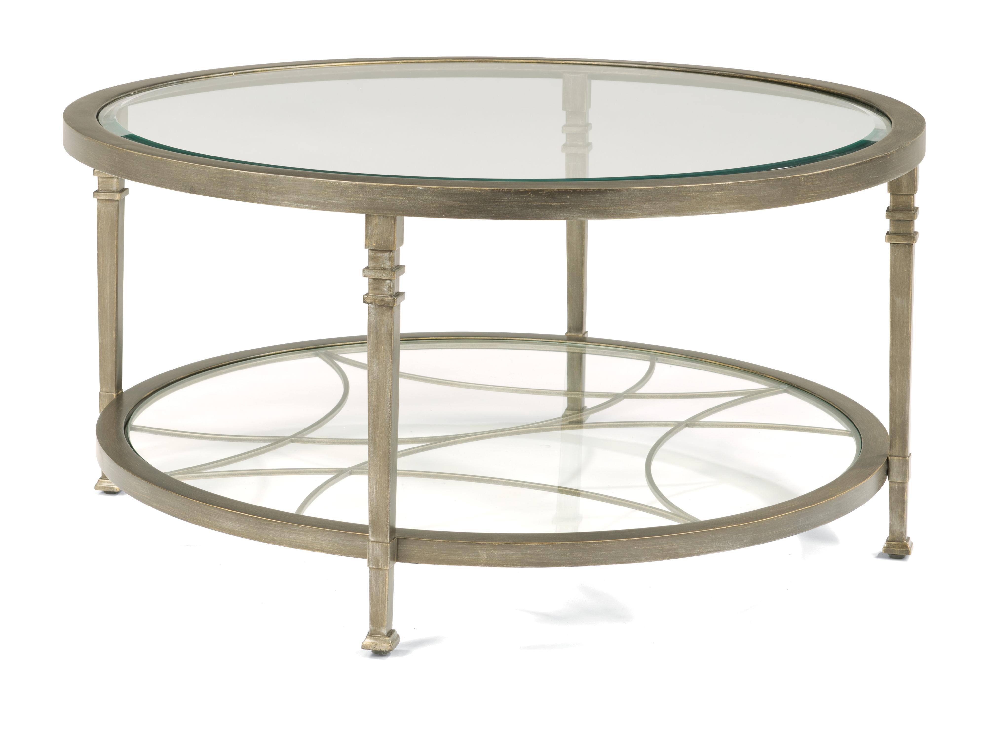 Flexsteel Atrium Round Cocktail Table - Item Number: 6725-034