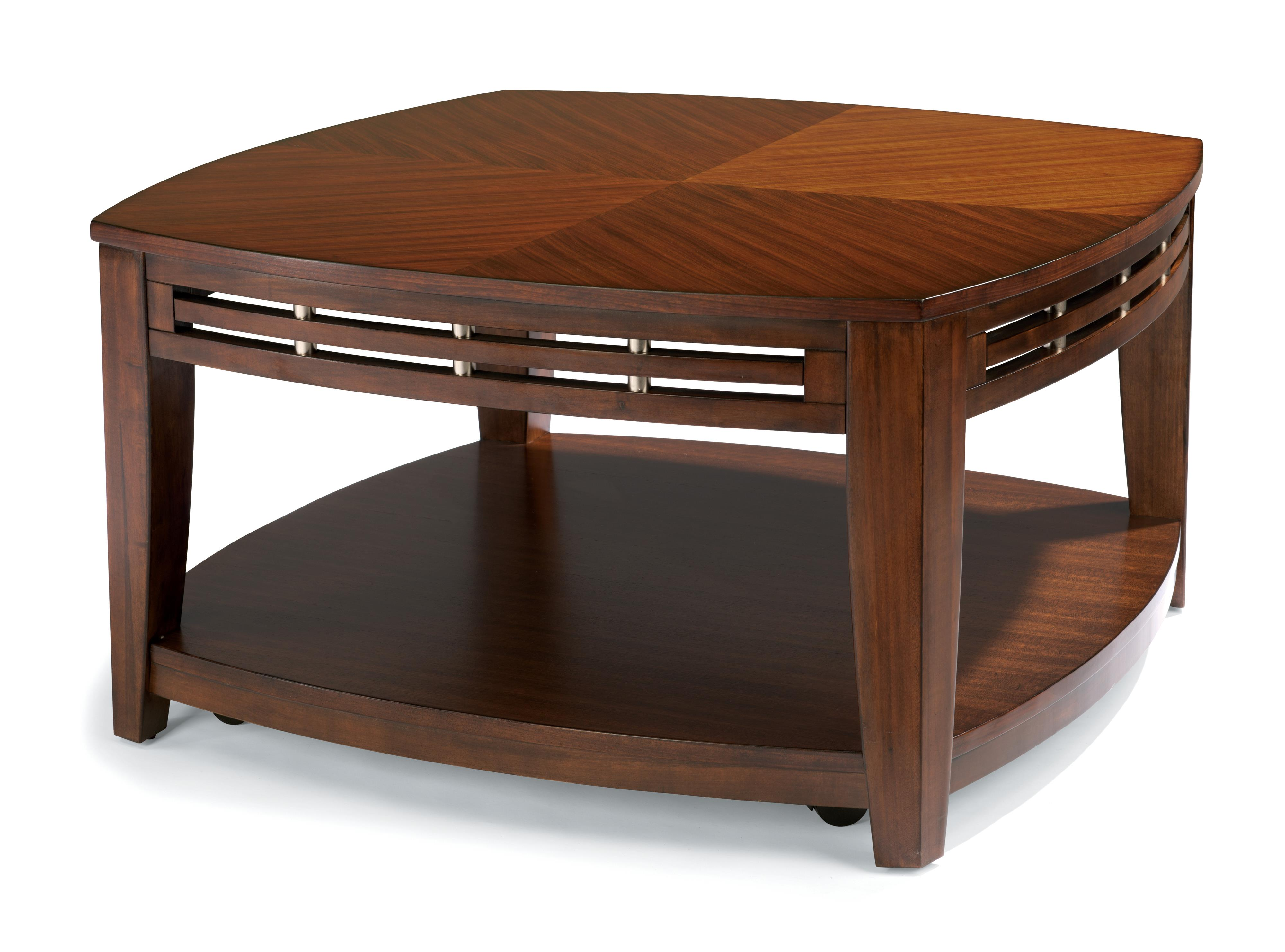 Flexsteel Bali Sq. Cocktail Table w/ casters - Item Number: W1409-0321