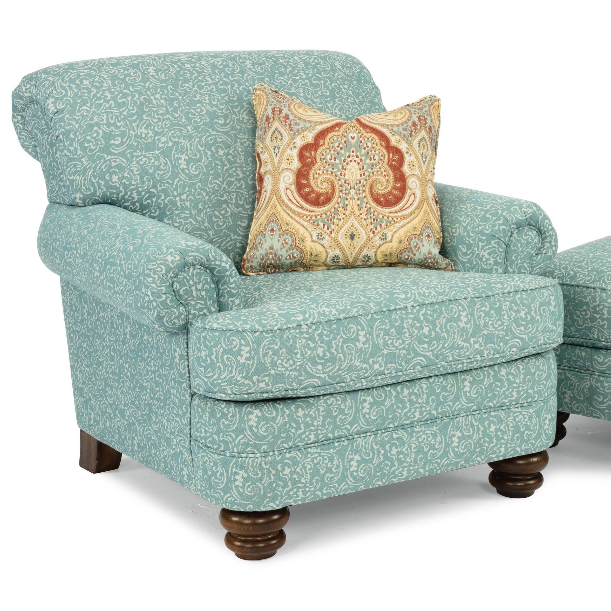 Bay Bridge Traditional Chair by Flexsteel at Jordan's Home Furnishings