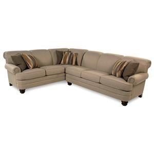 Flexsteel Knightsbridge 2PC Sectional Sofa