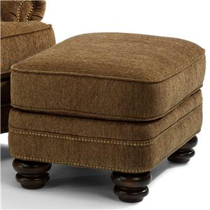 Flexsteel Bay Bridge Traditional Ottoman