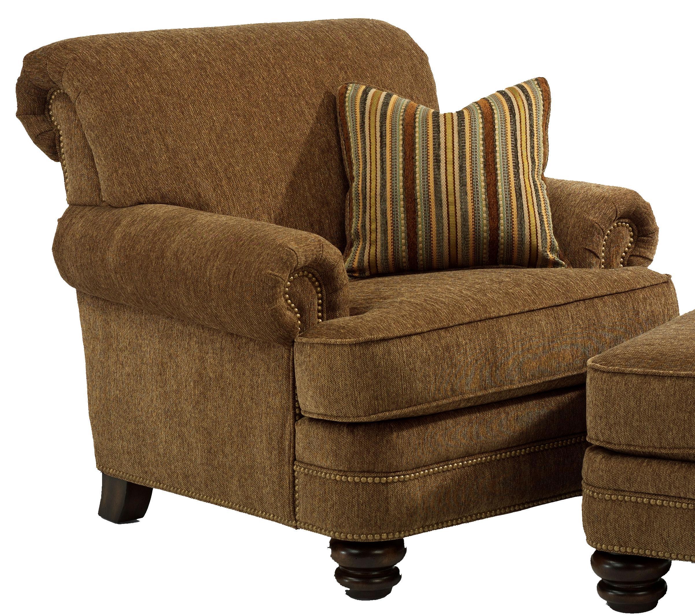 Flexsteel Bay Bridge Traditional Chair - Item Number: 7791-10