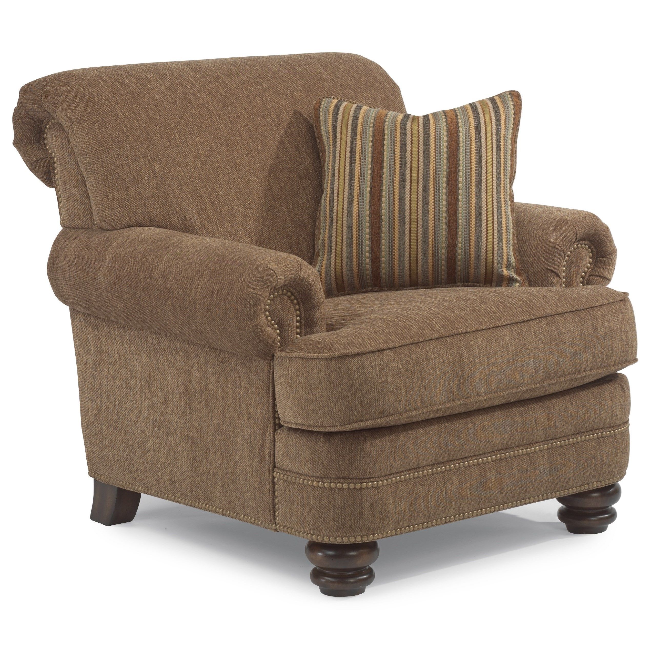 Bay Bridge Traditional Chair by Flexsteel at Jordan's Home Furnishings