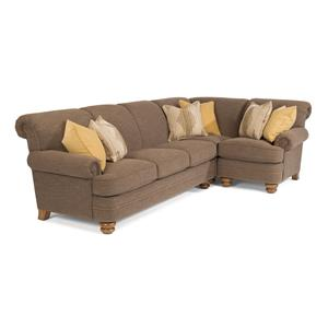 Flexsteel Bay Bridge 2 Pc Sectional Sofa