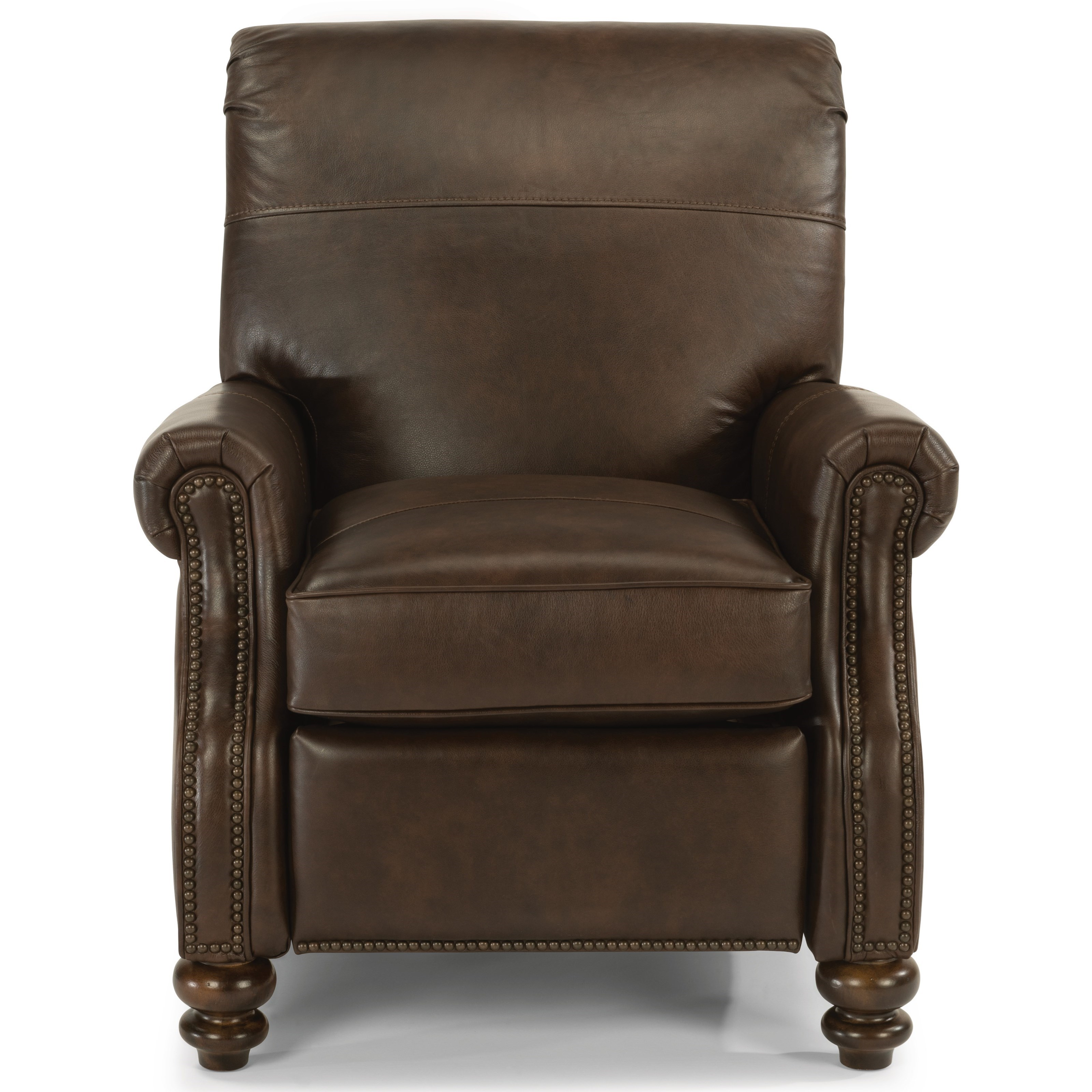 Bay Bridge Power High Leg Recliner by Flexsteel at Jordan's Home Furnishings