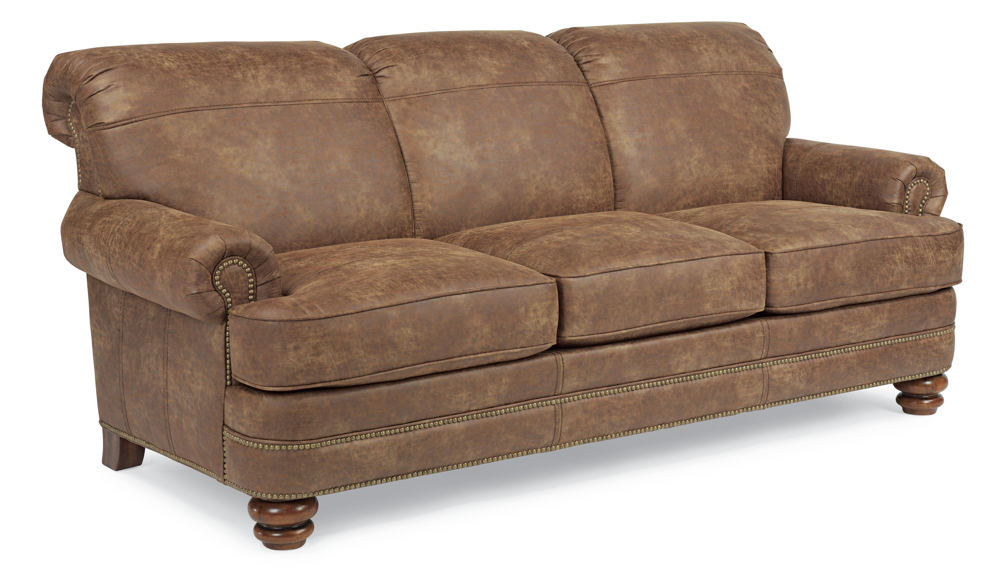 Flexsteel Bay Bridge Traditional Sofa - Item Number: N7791-31-325-54