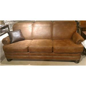 Flexsteel Bay Bridge N7791 31 Traditional Rolled Back Sofa Dunk Bright Furniture