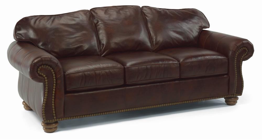 Flexsteel Bexley Traditional Sofa With Nail Head Trim Conlin 39 S Furniture Sofas