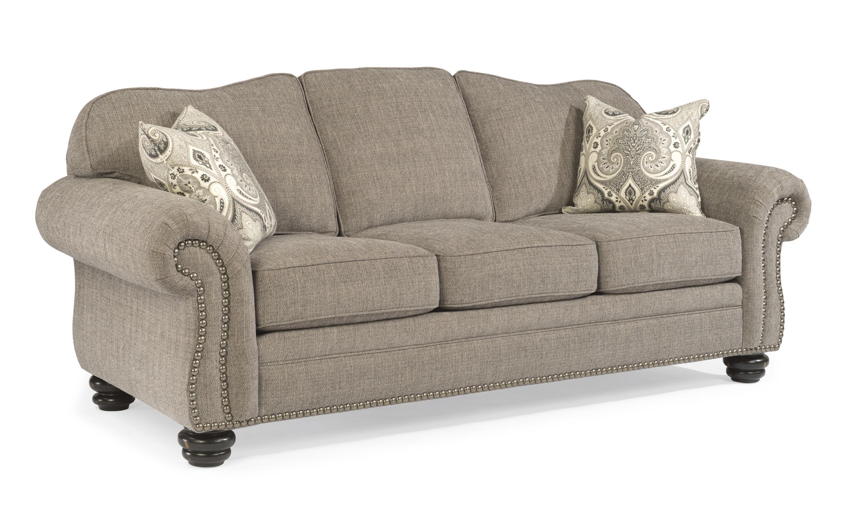 Flexsteel Bexley Sofa w/ Nails  - Item Number: 8648-31