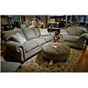 Flexsteel Bexley Sofa w/ Nails  - Item Number: 8648-31
