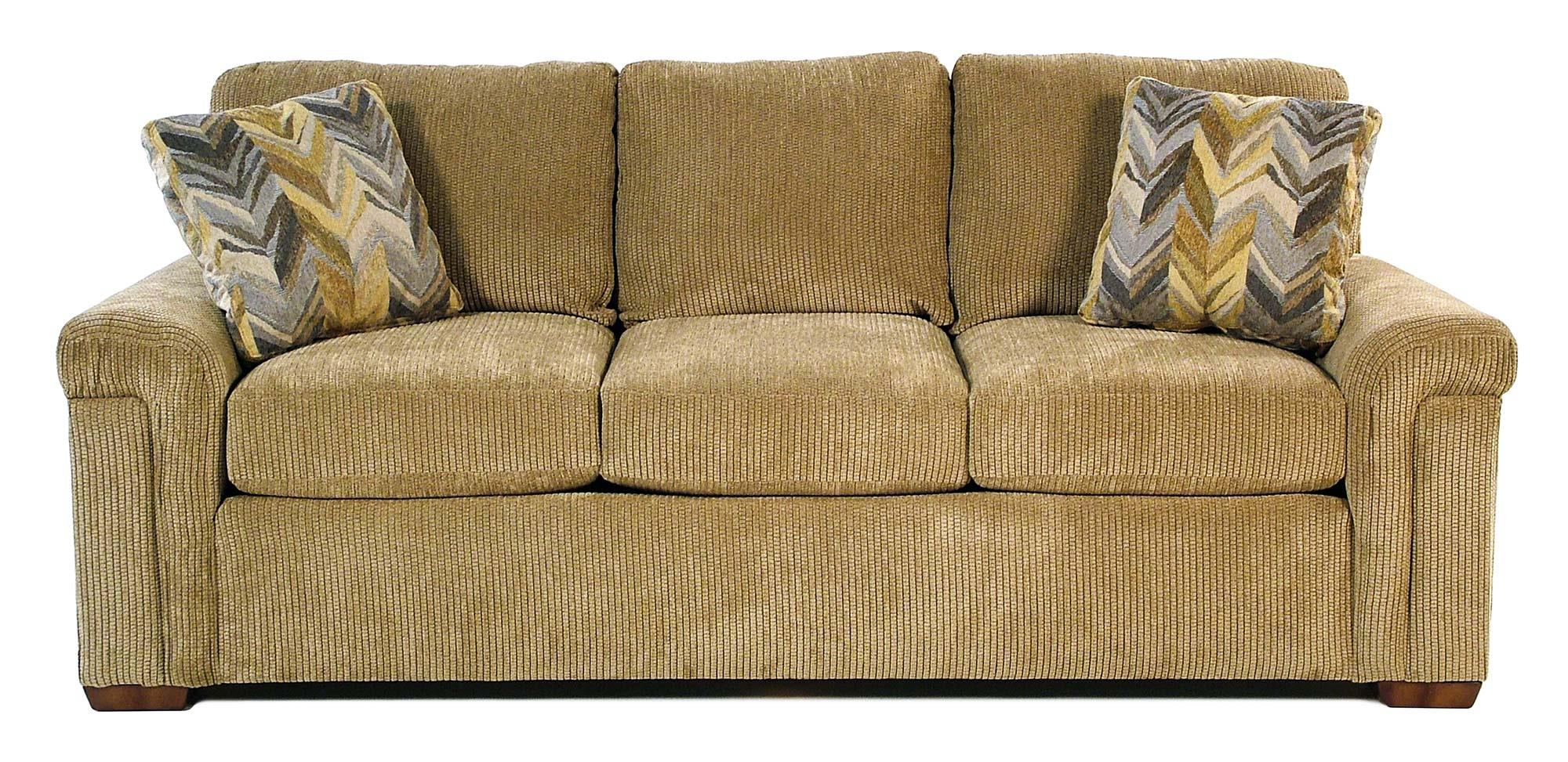 Flexsteel Riverton Casual Sofa with Pillow Arms - Item Number: S5649-31-911-80