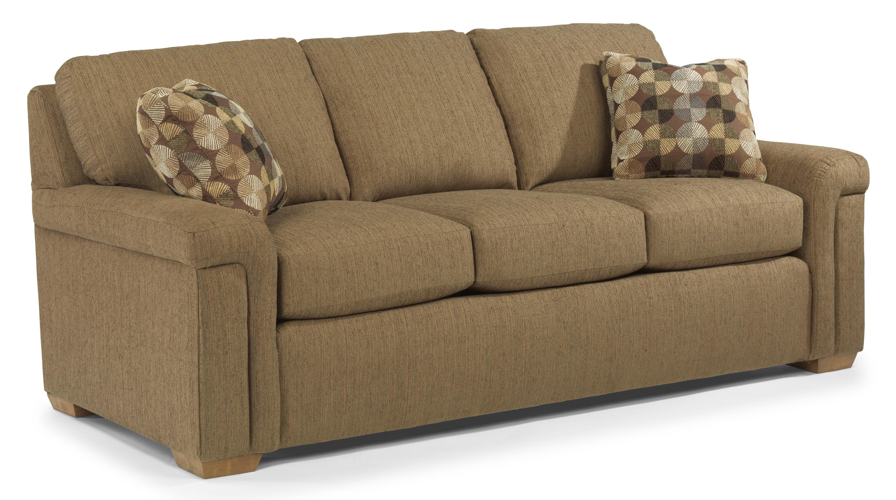 Flexsteel Blanchard <b>Value Package </b> Casual Sofa with Pillow ...