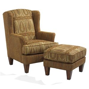 Flexsteel Bradstreet Chair & Ottoman