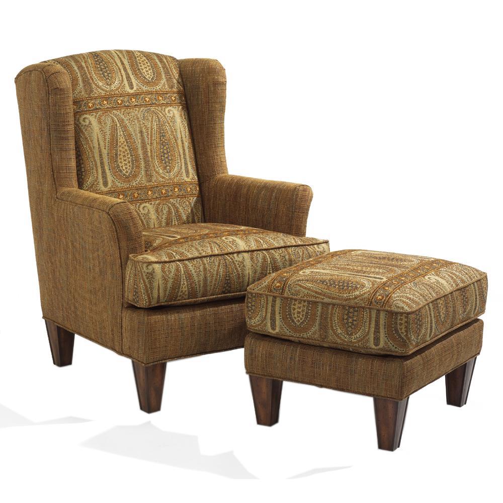 Flexsteel Bradstreet Wing Chair Zak S Fine Furniture