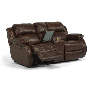 Flexsteel Latitudes - Brandon Power Rocking Reclining Loveseat
