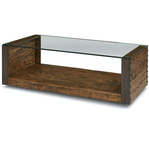 Flexsteel Bridgewater Rectangular Cocktail Table
