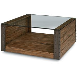 Flexsteel Bridgewater Square Cocktail Table