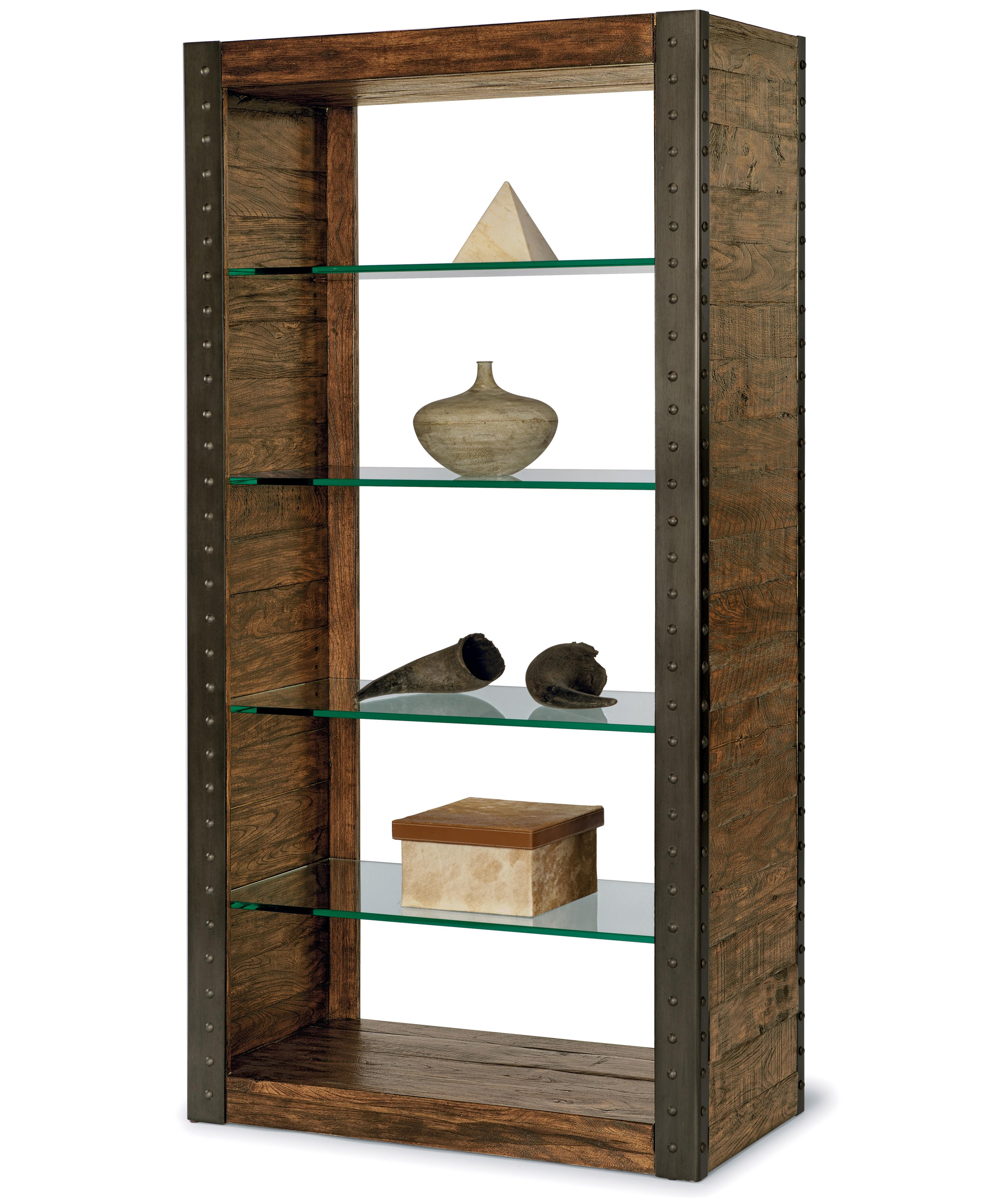 Flexsteel Bridgewater Bookshelf - Item Number: W1402-062