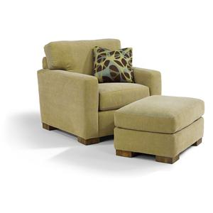 Flexsteel Bryant Chair and Ottoman
