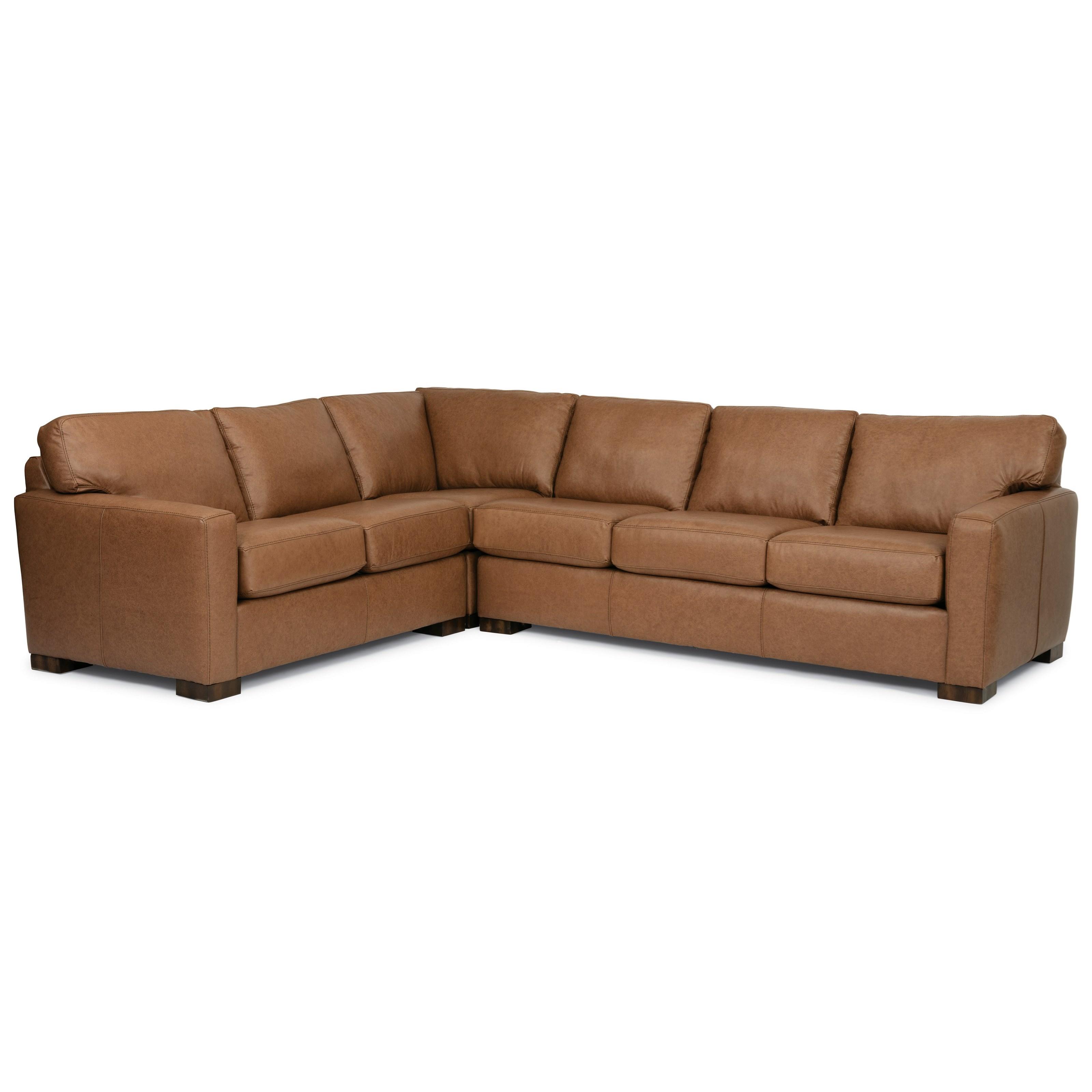 Bryant Sectional Sofa by Flexsteel at Jordan's Home Furnishings