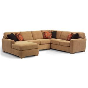 Flexsteel Bryant 3 pc. Sectional Sofa