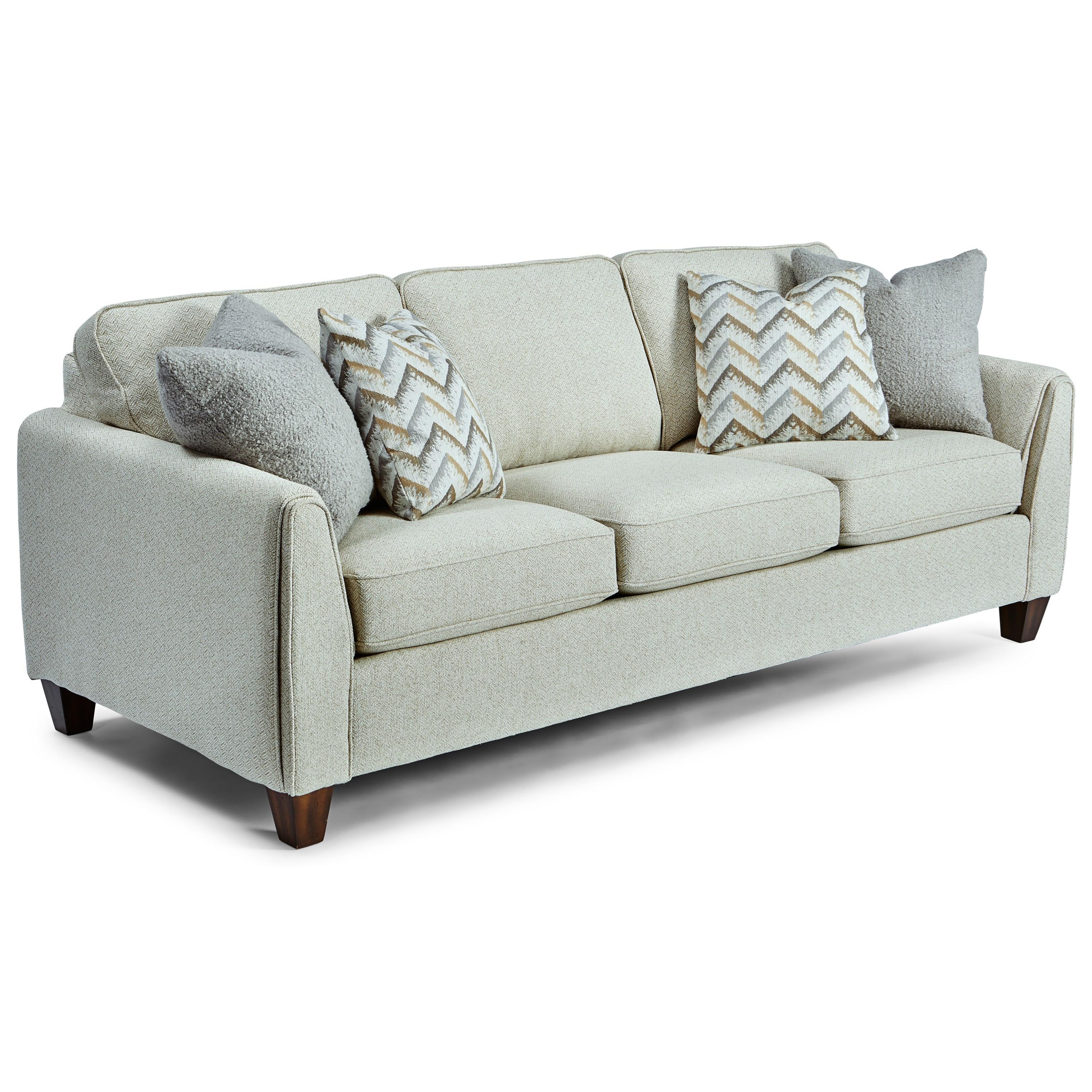 Bryce Sofa by Flexsteel at Jordan's Home Furnishings