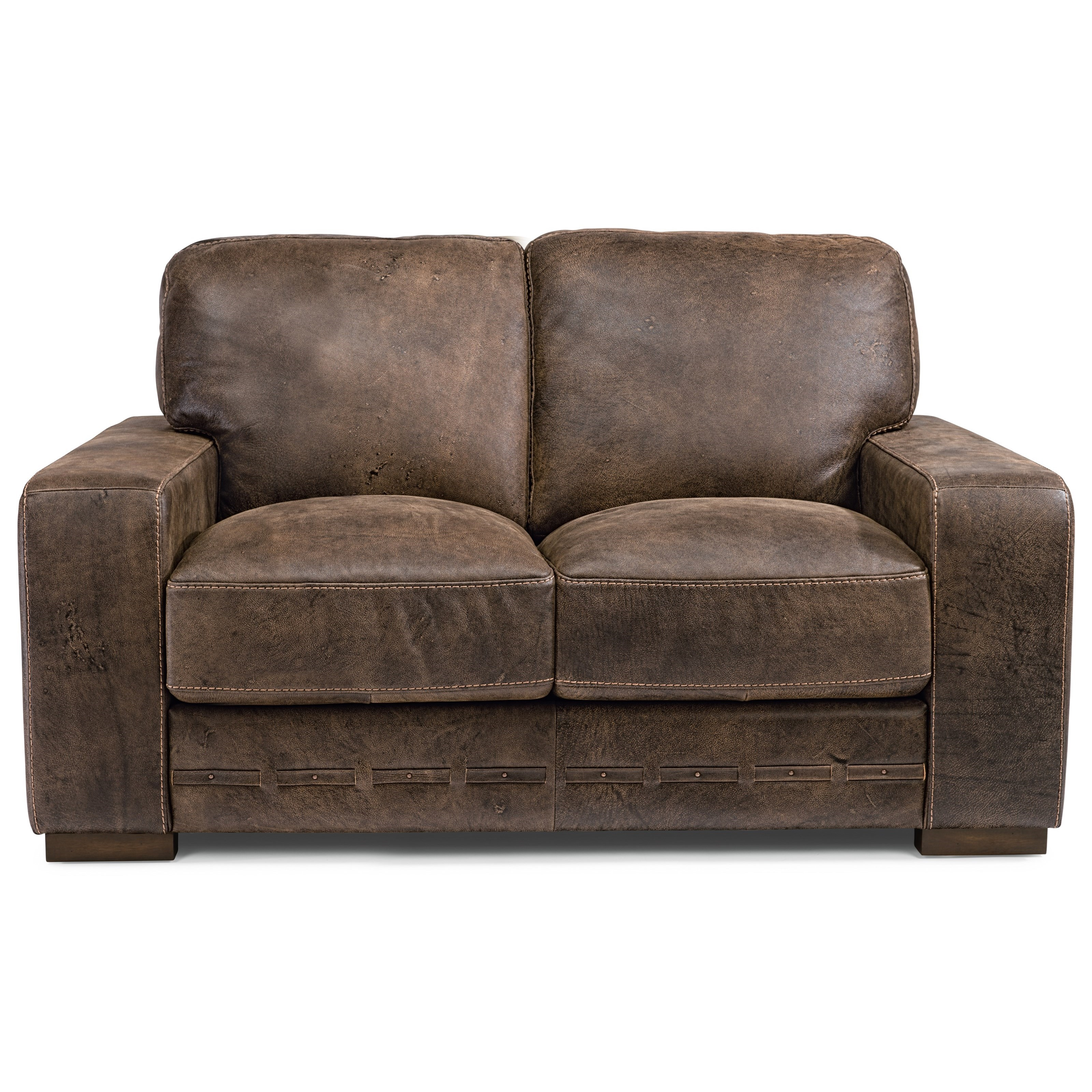 Pleasing Latitudes Buxton Contemporary Leather Loveseat By Flexsteel At Virginia Furniture Market Gmtry Best Dining Table And Chair Ideas Images Gmtryco